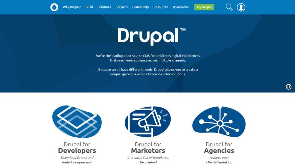 Модульная CMS Drupal