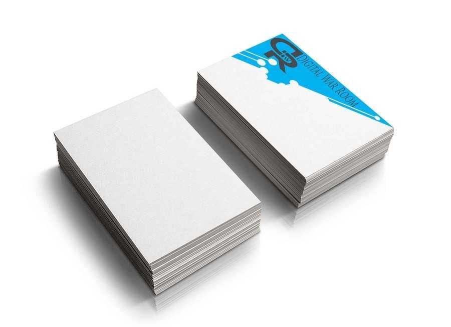 Создайте визитную карточку