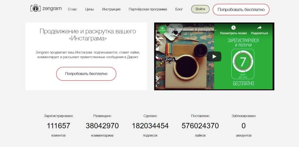 Zengram – популярный сервис
