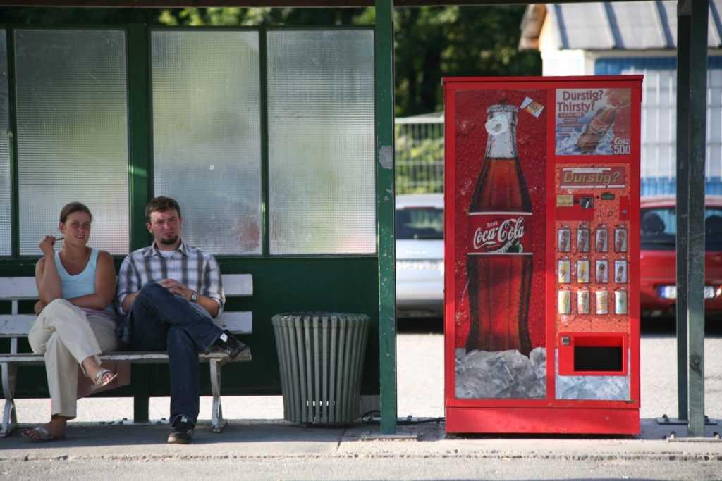 Сеть торговых автоматов