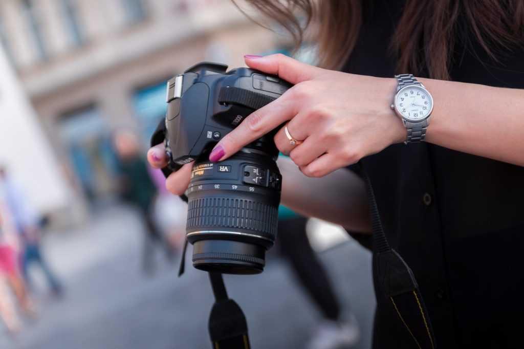 Сбор фотографий для портфолио