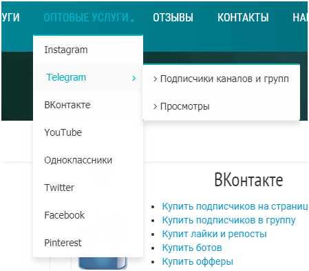заказ услуги по раскрутке Телеграм канала