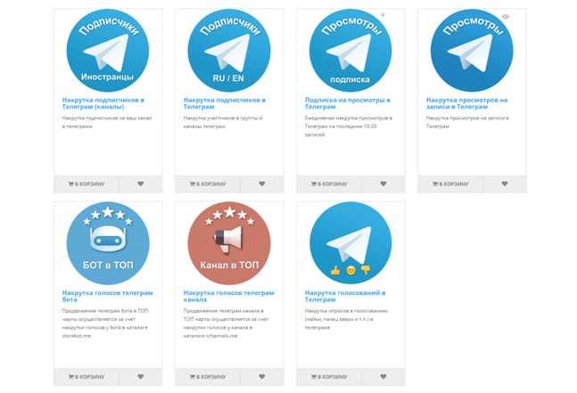 платные сервисы для продвижения канала Телеграм