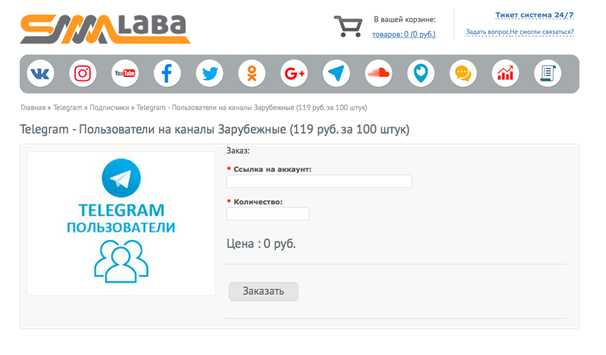 smmlaba.com - сервис по накрутке подписчиков