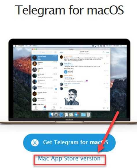 Mac App Store Version - пункт меню, для скачивания приложения с магазина