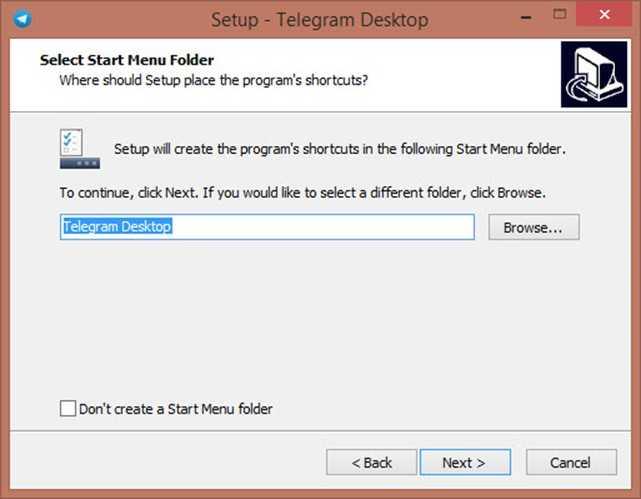 Телеграм Desktop оставьте эту надпись без изменений