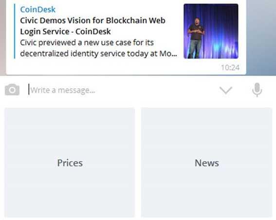 Популярные боты Телеграм для обмена биткоина и @BlokchainBot