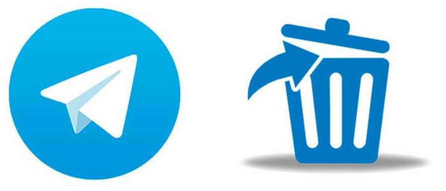 Удаление аккаунта Телеграм приводит к удалению всех данных
