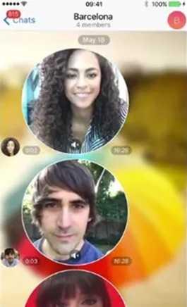 В Телеграм есть видеосообщения, что даже удобнее, чем видеозвонки