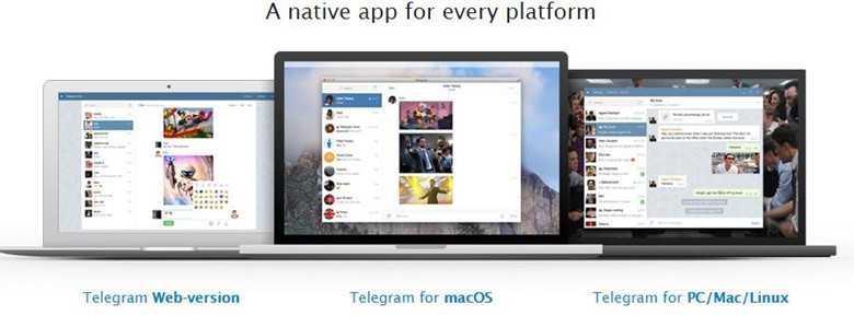 Установить Телеграм можно на пк с Windows, Linux или MacOS