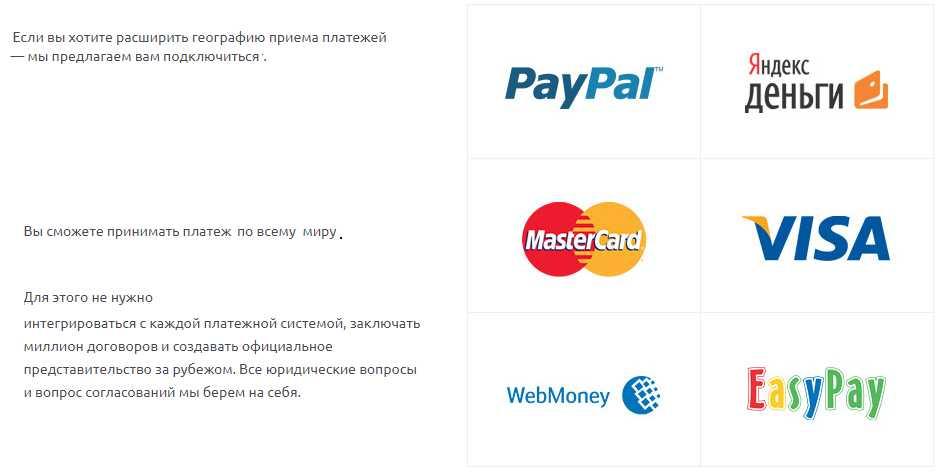 оплата через деньги online