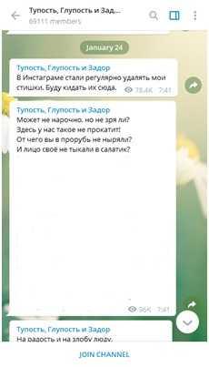 Авторский блог Телеграм Сергея Шнурова