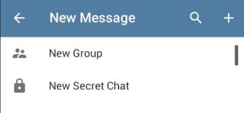 кнопка для создания новой группы