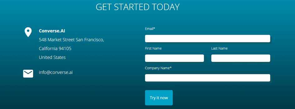 Для начала регистрации вводим емейл, имя и фамилию