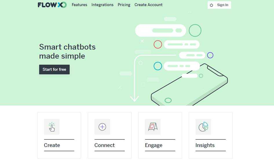 Регистрация на сайте Flox, нужна для создания нового бота