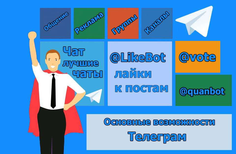 Основные и дополнительные возможности мессенджера Телеграм