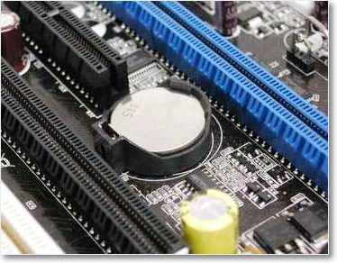 Батарейка для сброса CMOS-памяти