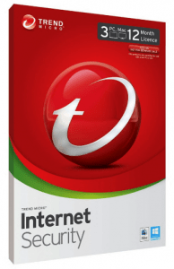 Trend Micro Internet Security.
