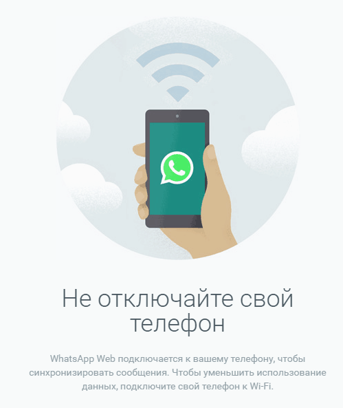 Whatsapp на телефоне.
