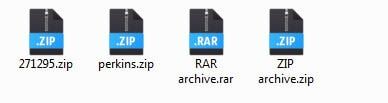 Архивы zip и rar