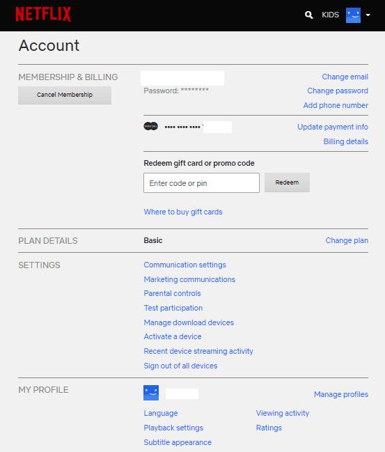 Ввод данных почтового ящика.