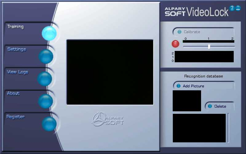 Alparysoft VideoLock for Webcam.