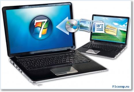 как перенести файлы и настройки на новый компьютер?