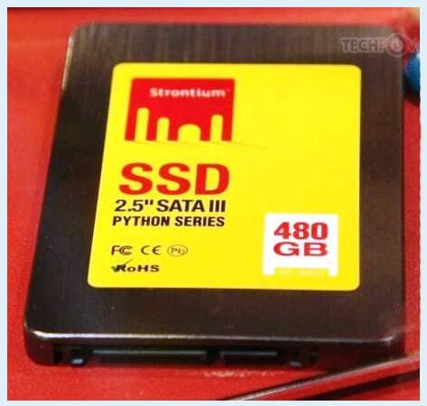 480-Гбайт SSD с SATA 3.0 от Strontium