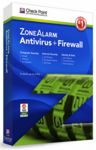 ZoneAlarm Free Antivirus.