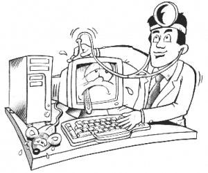 починить компьютер