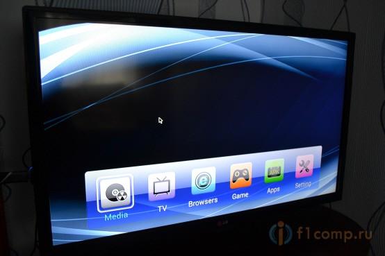 Оболочка приставки Defender Smart Android HD2