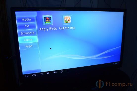Игры на Андроид ТВ приставке