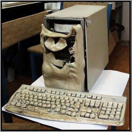 сгорел компьютер