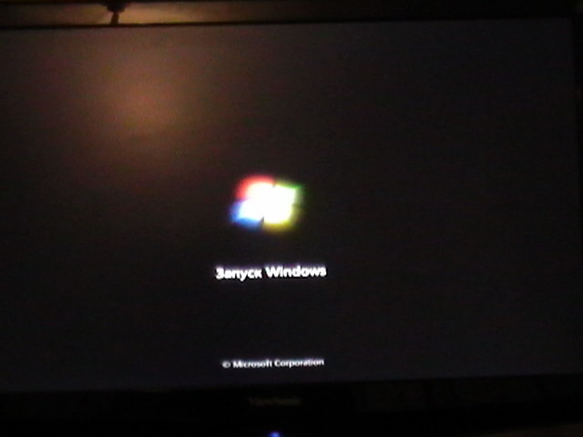 запуск Windows 7