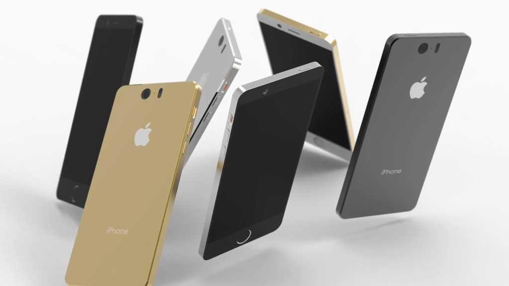 Цветовые решения нового iPhone 6