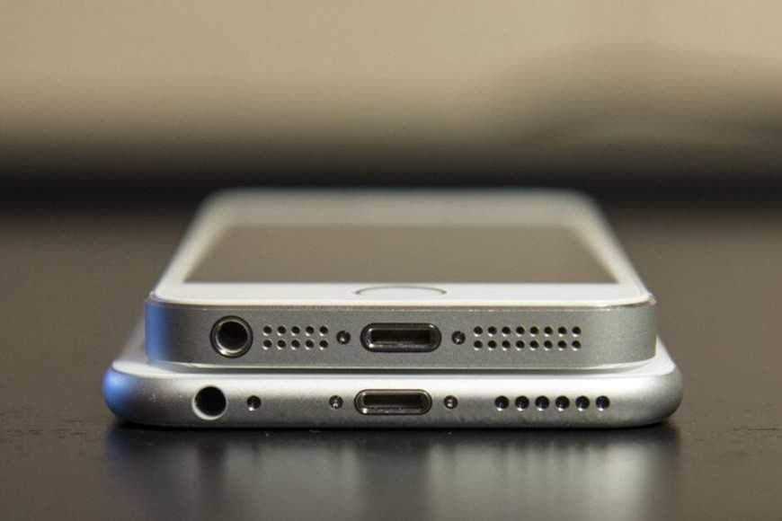 динамики на последних моделях айфона