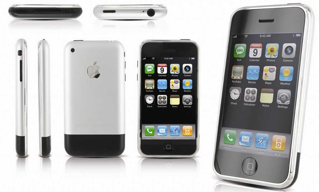 iPhone 2g - Первый в линейке