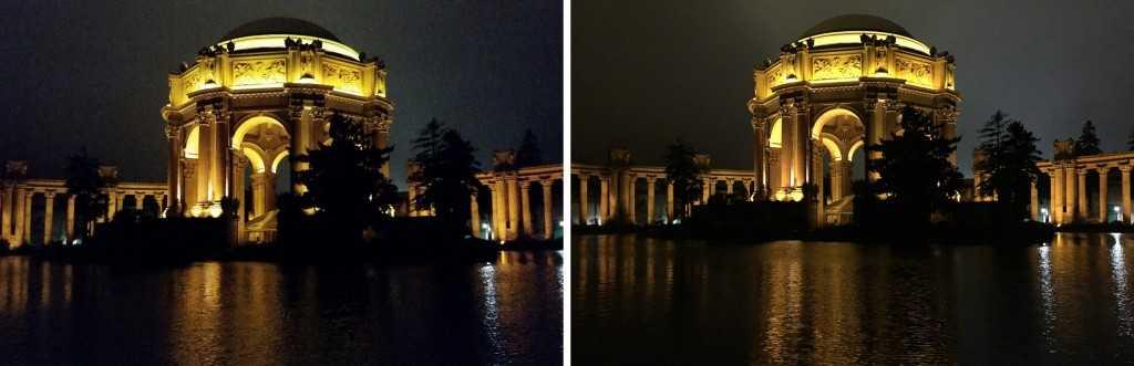 Пример фотоснимков. Слева Самсунг, справа Айфон.