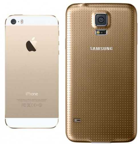 Galaxy-S5-and-iPhone-5S