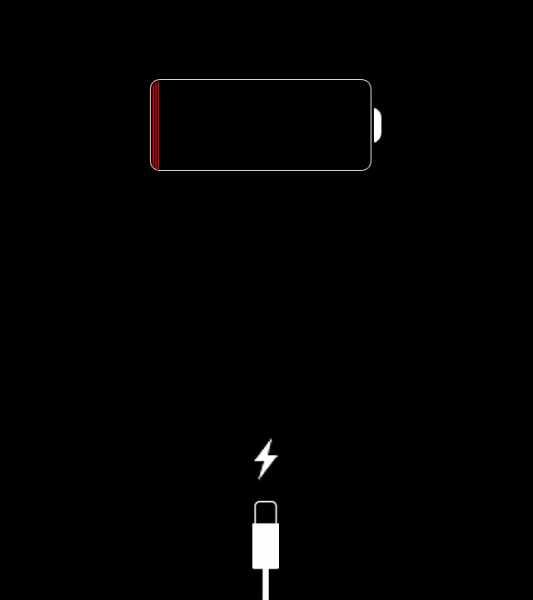 проблема выключения айфона